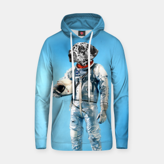 Thumbnail image of Astronaut-Dalmatian Cotton hoodie, Live Heroes