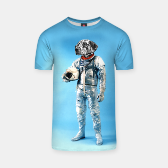 Thumbnail image of Astronaut-Dalmatian T-shirt, Live Heroes