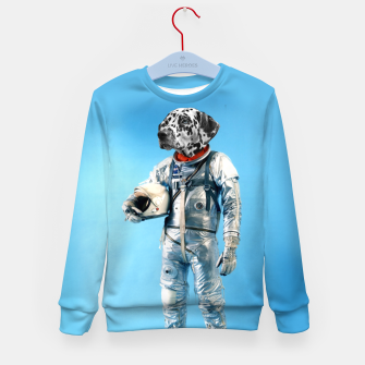 Thumbnail image of Astronaut-Dalmatian Kid's sweater, Live Heroes