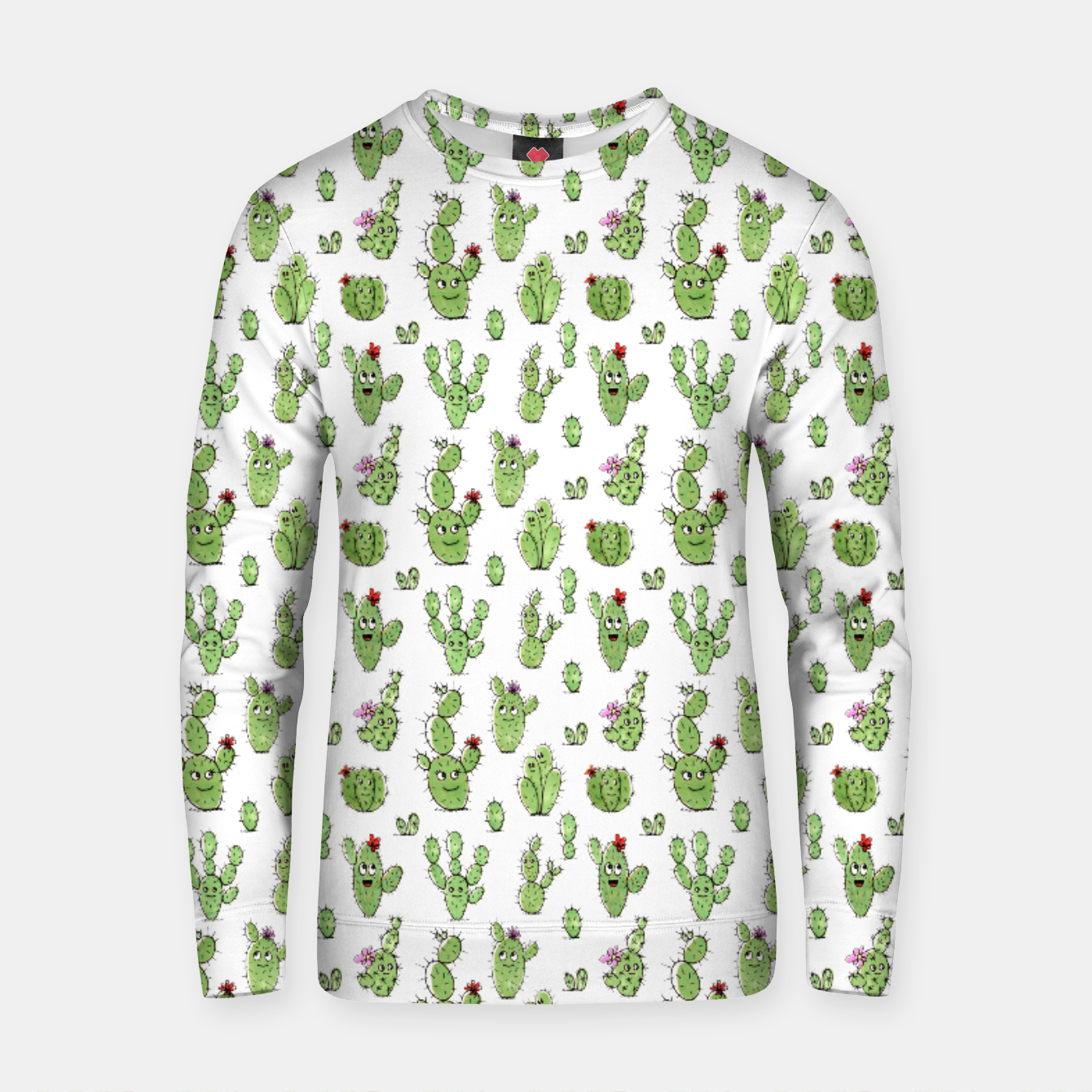 Image of Cactus People – Cotton sweater - Live Heroes