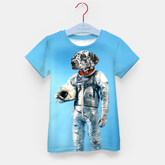 Thumbnail image of Astronaut-Dalmatian Kid's t-shirt, Live Heroes