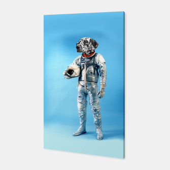 Thumbnail image of Astronaut-Dalmatian Canvas, Live Heroes