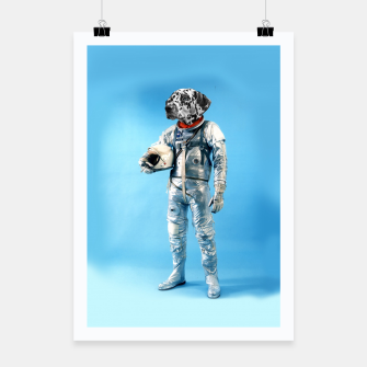 Thumbnail image of Astronaut-Dalmatian Poster, Live Heroes