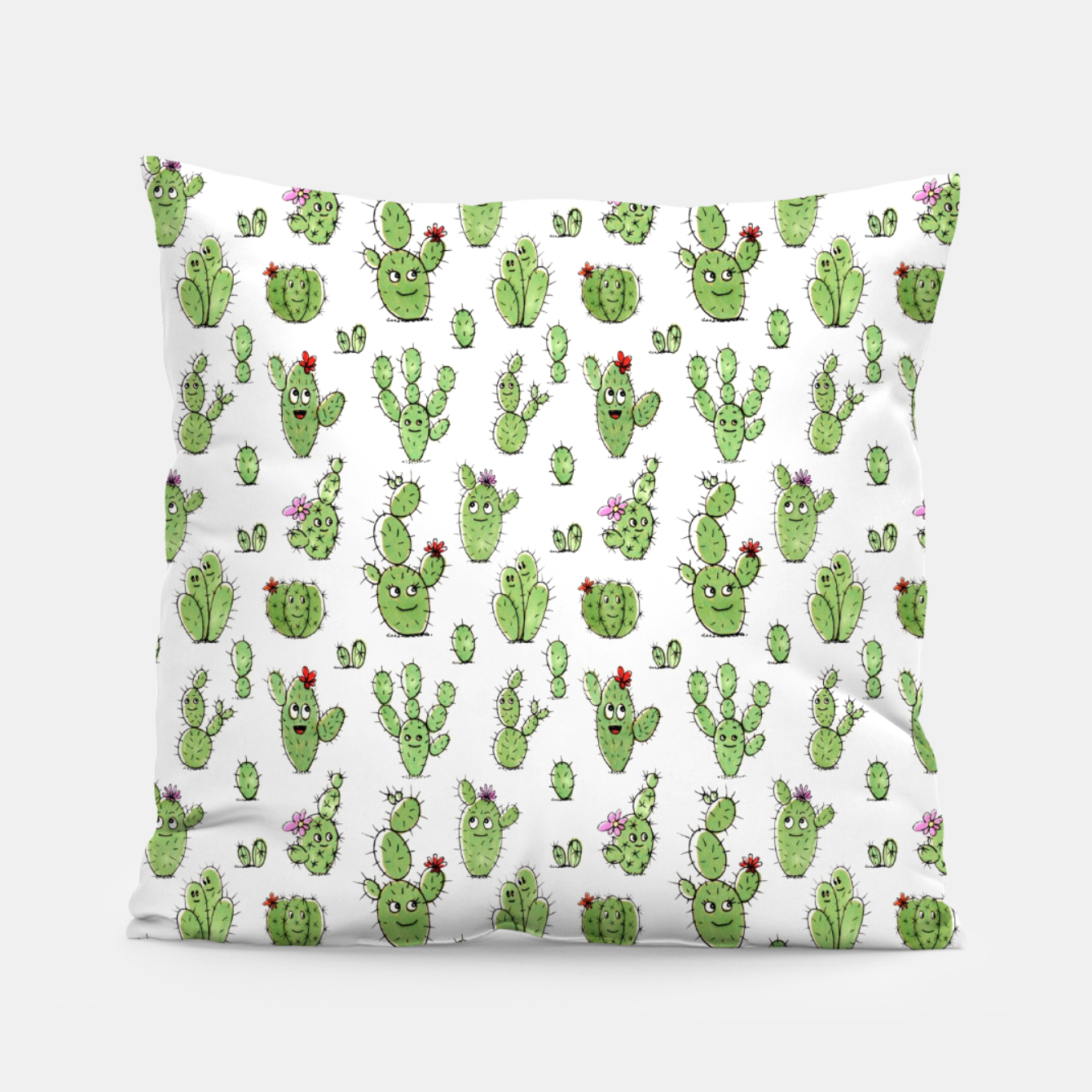 Image of Cactus People – Pillow - Live Heroes