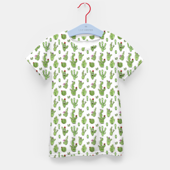 Thumbnail image of Cactus People – Kid's t-shirt, Live Heroes