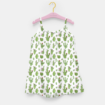Cactus People – Girl's dress Bild der Miniatur