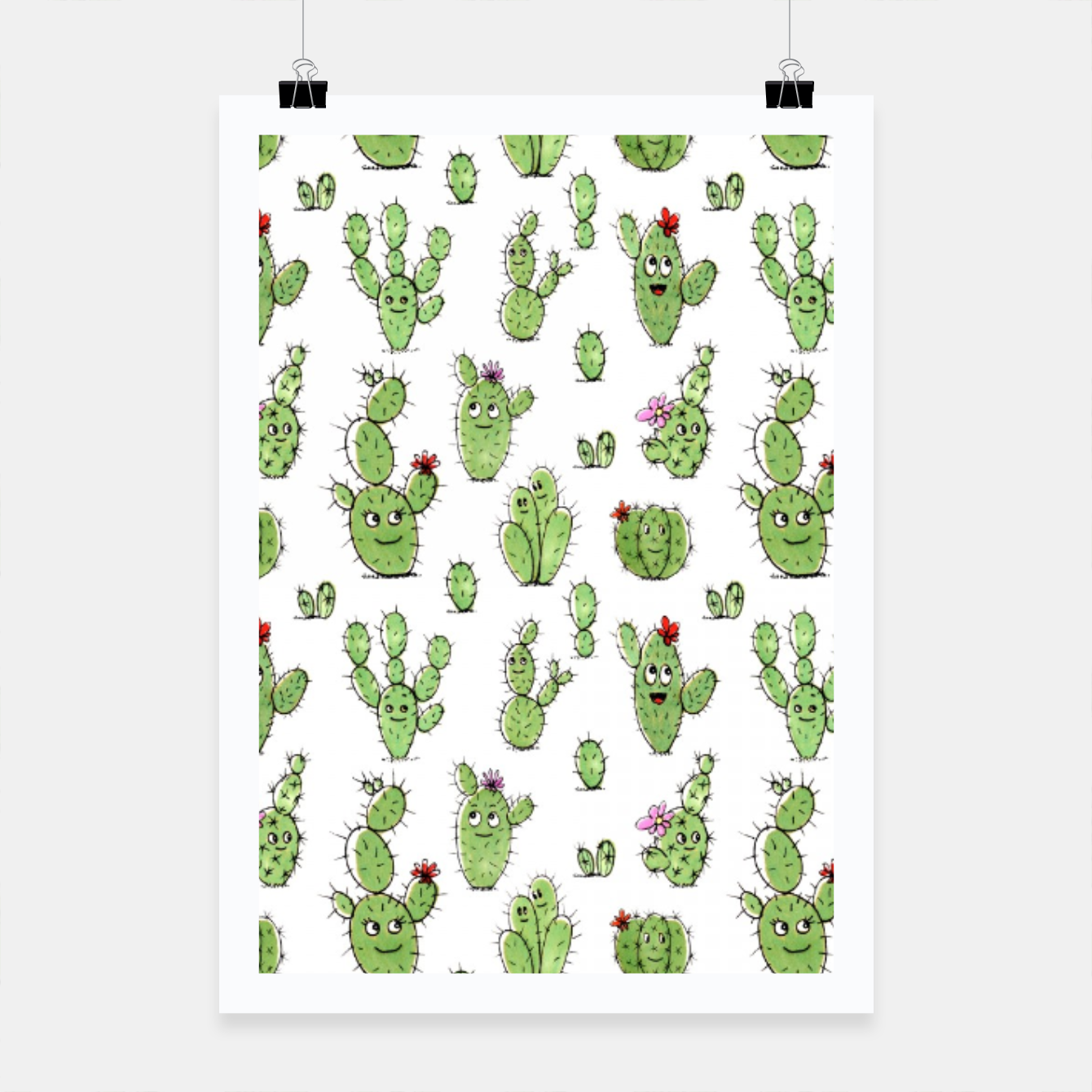 Image of Cactus People – Poster - Live Heroes