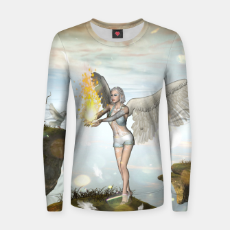 Thumbnail image of Wonderful fairy Woman cotton sweater, Live Heroes