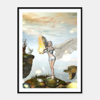 Miniature de image de Wonderful fairy Framed poster, Live Heroes