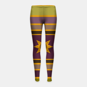 Miniature de image de The sunset in a candy box Girl's leggings, Live Heroes