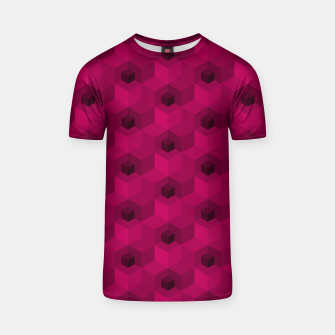 Thumbnail image of Purple Pattern T-shirt, Live Heroes