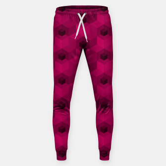 Thumbnail image of Purple Pattern Cotton sweatpants, Live Heroes