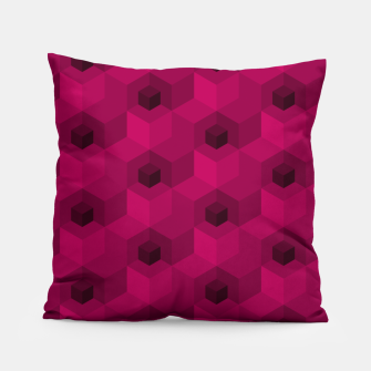 Thumbnail image of Purple Pattern Pillow, Live Heroes