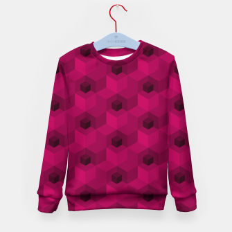 Thumbnail image of Purple Pattern Kid's sweater, Live Heroes