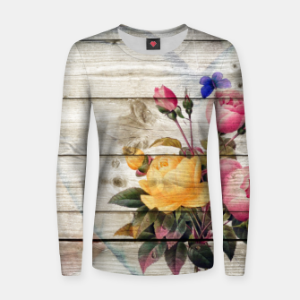 Thumbnail image of Ragnor Design | Dress Yourself | #rda13 Woman cotton sweater, Live Heroes