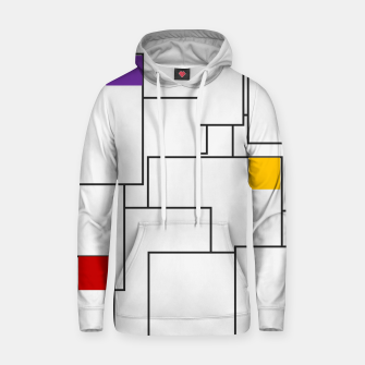 Labyrinthine Cotton hoodie miniature