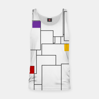 Miniatur Labyrinthine Tank Top, Live Heroes