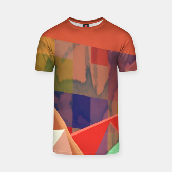 Thumbnail image of 3D Painting Construction T-Shirt, Live Heroes