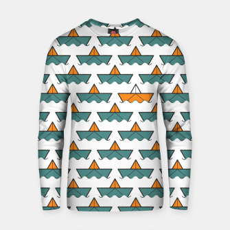 Miniatur The Yellow Boat Cotton sweater, Live Heroes