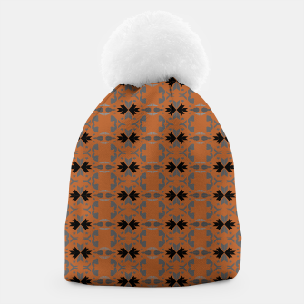 Thumbnail image of Luxury stylish beanie, brown, MOROCCO, Live Heroes