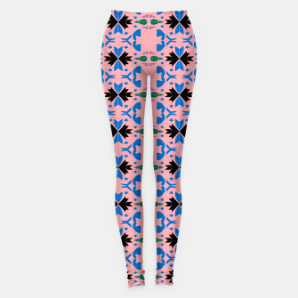 Miniatur Leggings luxury MOROCCO Ornaments Pink, Live Heroes