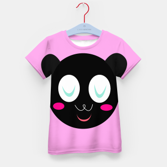 Thumbnail image of Kids authors t-shirt, Little panda smiling, Live Heroes