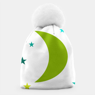 Thumbnail image of Green Moon Beanie, Live Heroes