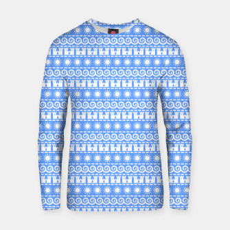 Thumbnail image of Seaside Symbols Cotton sweater, Live Heroes