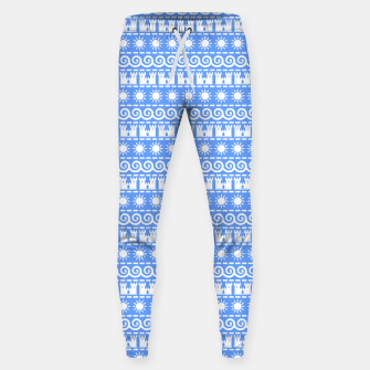Thumbnail image of Seaside Symbols Cotton sweatpants, Live Heroes