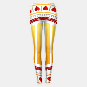 Thumbnail image of Mothers Day - Mom Love Circle Leggings, Live Heroes