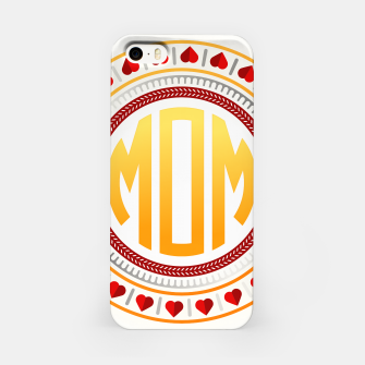 Thumbnail image of Mothers Day - Mom Love Circle iPhone Case, Live Heroes