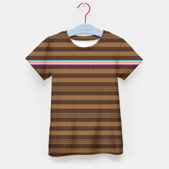 Thumbnail image of Too Much Brown... Kinda Kid's t-shirt, Live Heroes