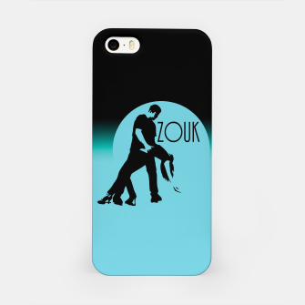 Miniature de image de lets dance zouk - blue edition iPhone-Hülle, Live Heroes