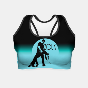 Miniature de image de lets dance zouk - blue edition Crop Top, Live Heroes