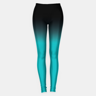 Miniatur blue to black colorgrade Leggings, Live Heroes