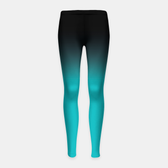 Miniatur blue to black colorgrade Kinder-Leggins, Live Heroes