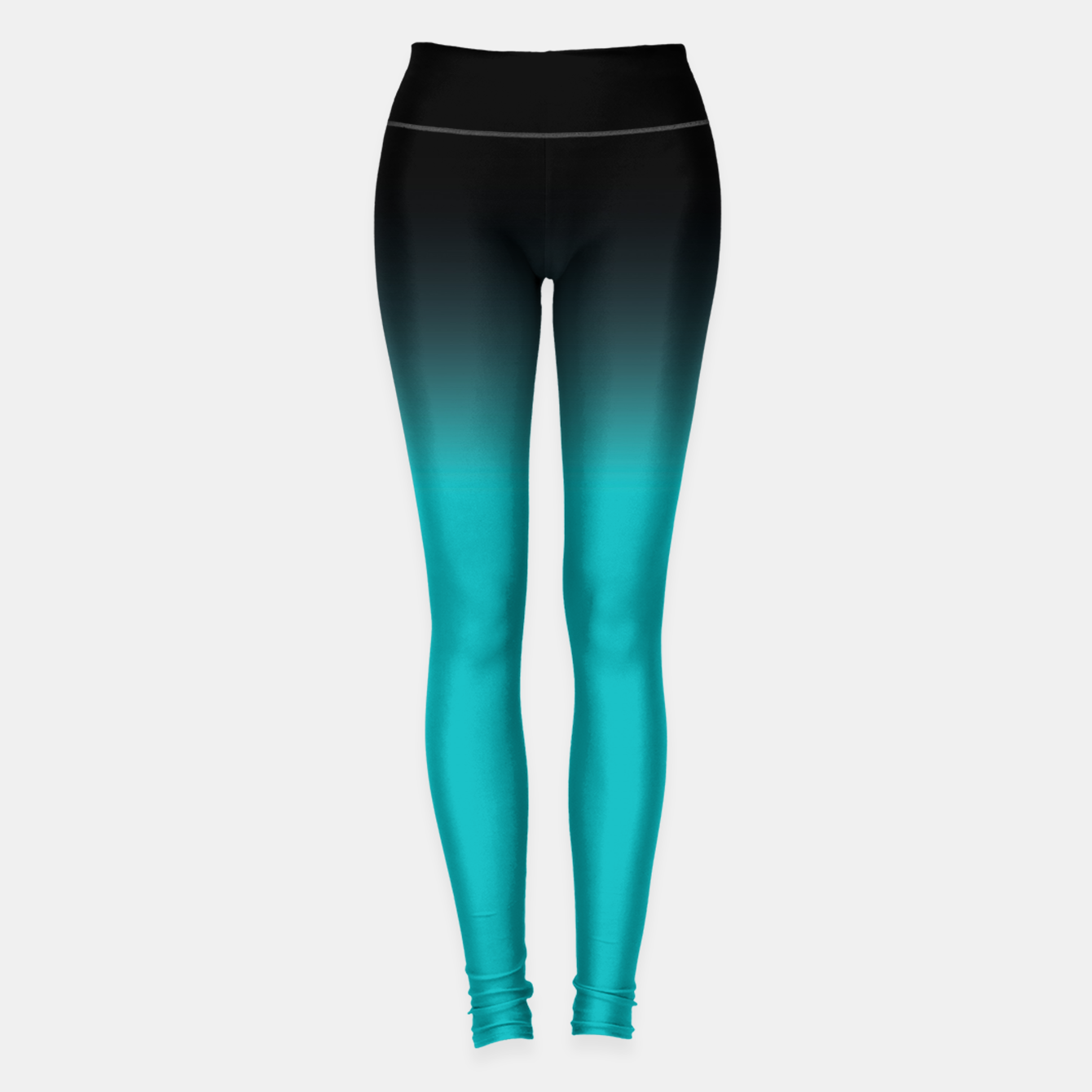 Image de blue to black colorgrade Leggings - Live Heroes