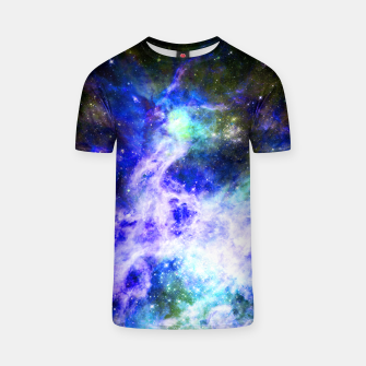Thumbnail image of Blue space T-shirt, Live Heroes