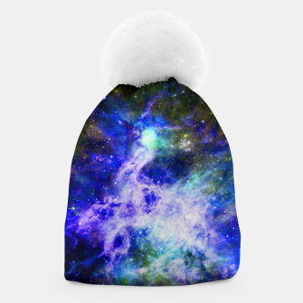 Blue space Beanie miniature
