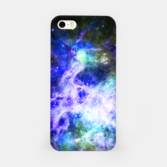 Blue space iPhone Case miniature
