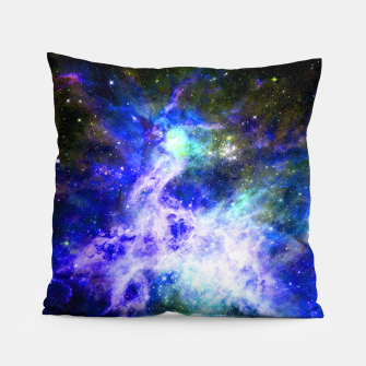 Blue space Pillow miniature