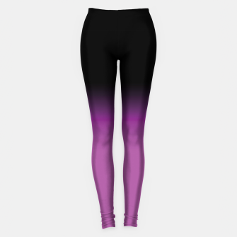 purple to black colorgrade Leggings miniature