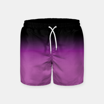 Miniatur purple to black colorgrade Badeshorts, Live Heroes