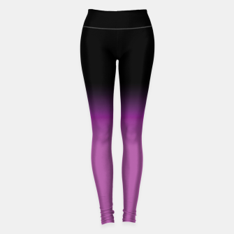 Miniatur purple to black colorgrade Leggings, Live Heroes