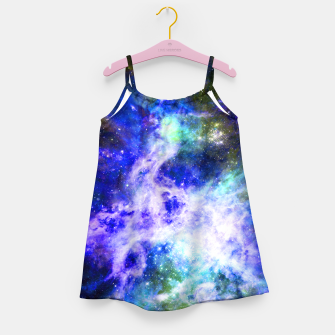 Thumbnail image of Blue space Girl's dress, Live Heroes