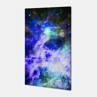 Blue space Canvas miniature