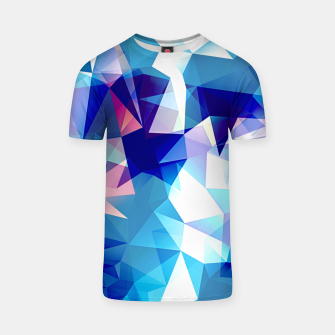 Thumbnail image of Bluish polygons T-shirt, Live Heroes