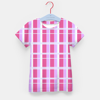 Thumbnail image of Kids t.shirt, pink design blocks, Live Heroes