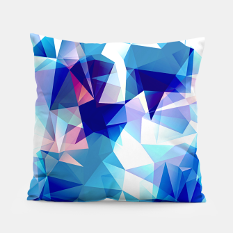 Miniature de image de Bluish polygons Pillow, Live Heroes