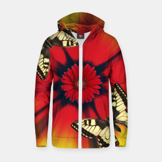 Miniature de image de Design Cotton zip up hoodie, Live Heroes